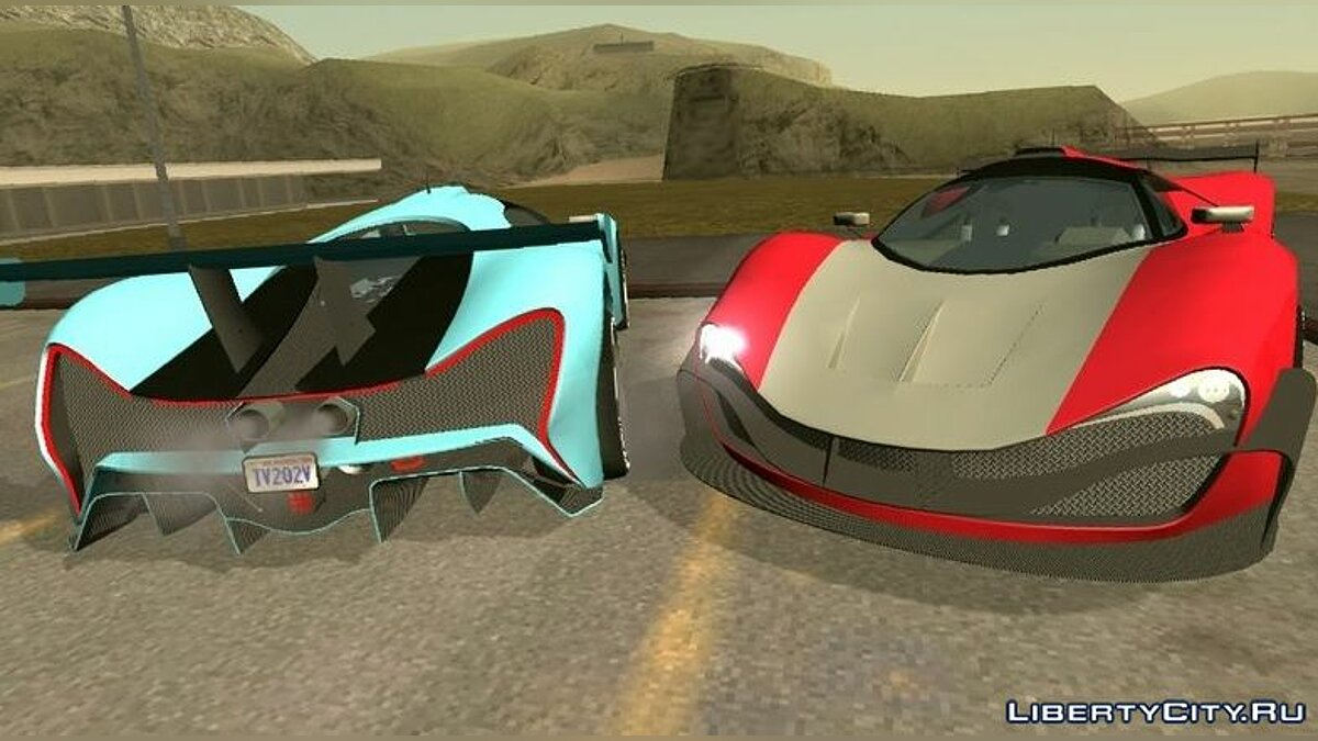 Car Grotti Visione (DFF only) for GTA San Andreas (iOS, Android)