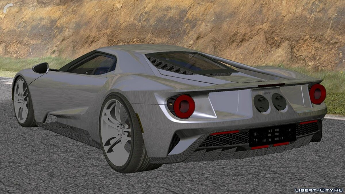 Car Ford gt for GTA San Andreas (iOS, Android)