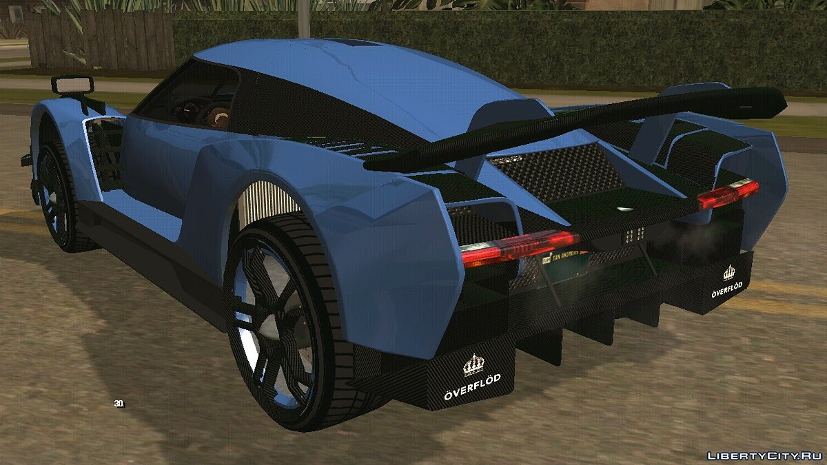 Car Overflod Autarch Next Gen for GTA San Andreas (iOS, Android)