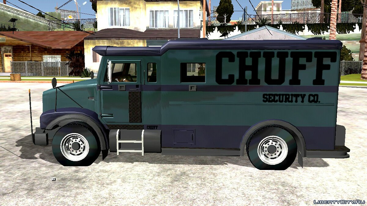 Car Brute Stockade (DFF only) for GTA San Andreas (iOS, Android)