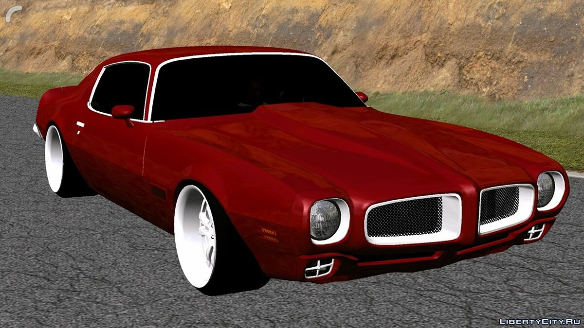 Car Pontiac for GTA San Andreas (iOS, Android)