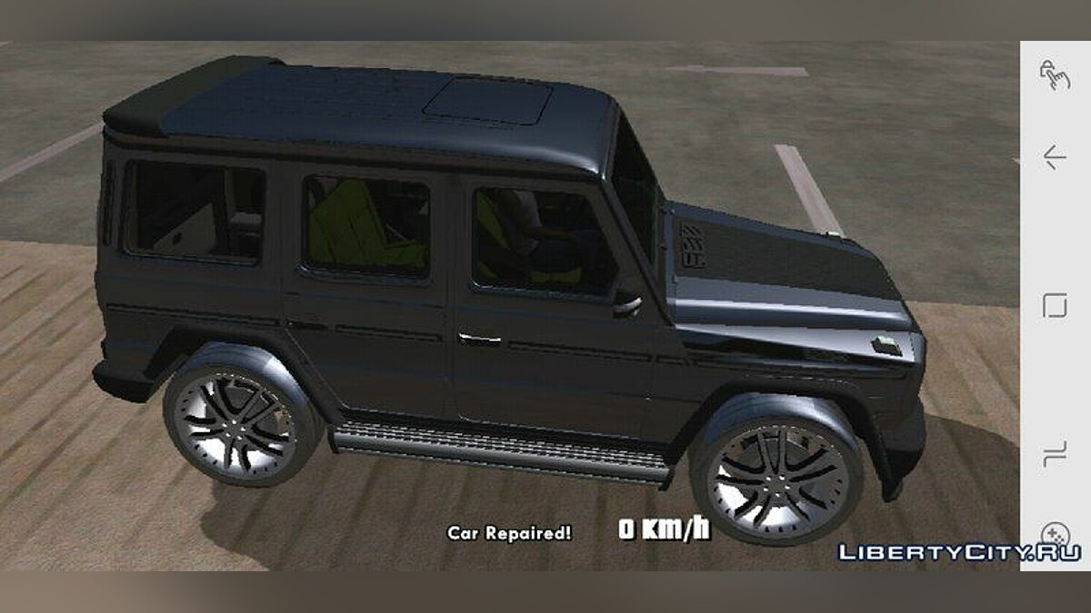 Mercedes-Benz G500 ART for GTA San Andreas (iOS, Android) - Картинка #2