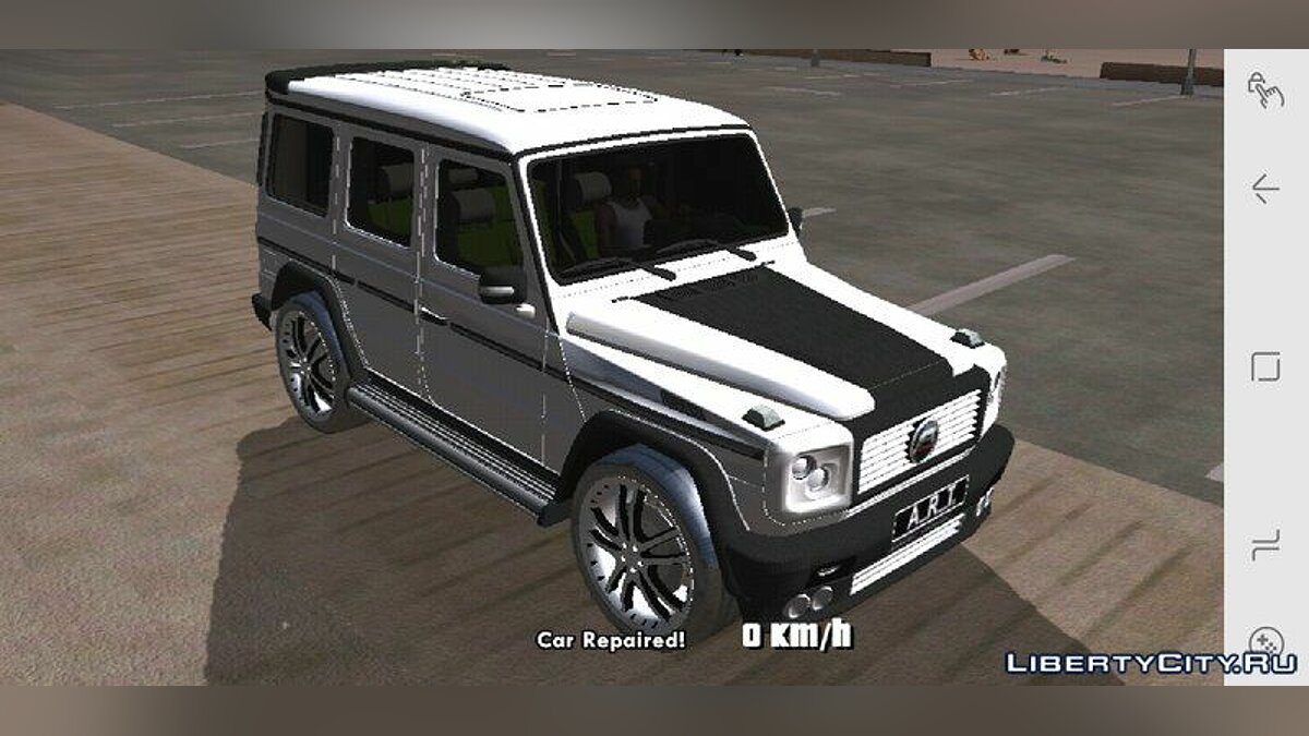 Mercedes-Benz G500 ART for GTA San Andreas (iOS, Android) - Картинка #3