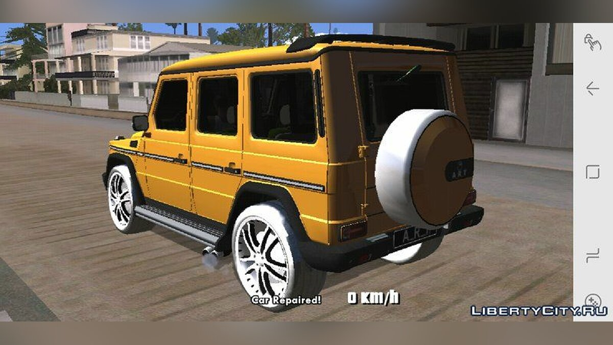 Mercedes-Benz G500 ART for GTA San Andreas (iOS, Android) - Картинка #4