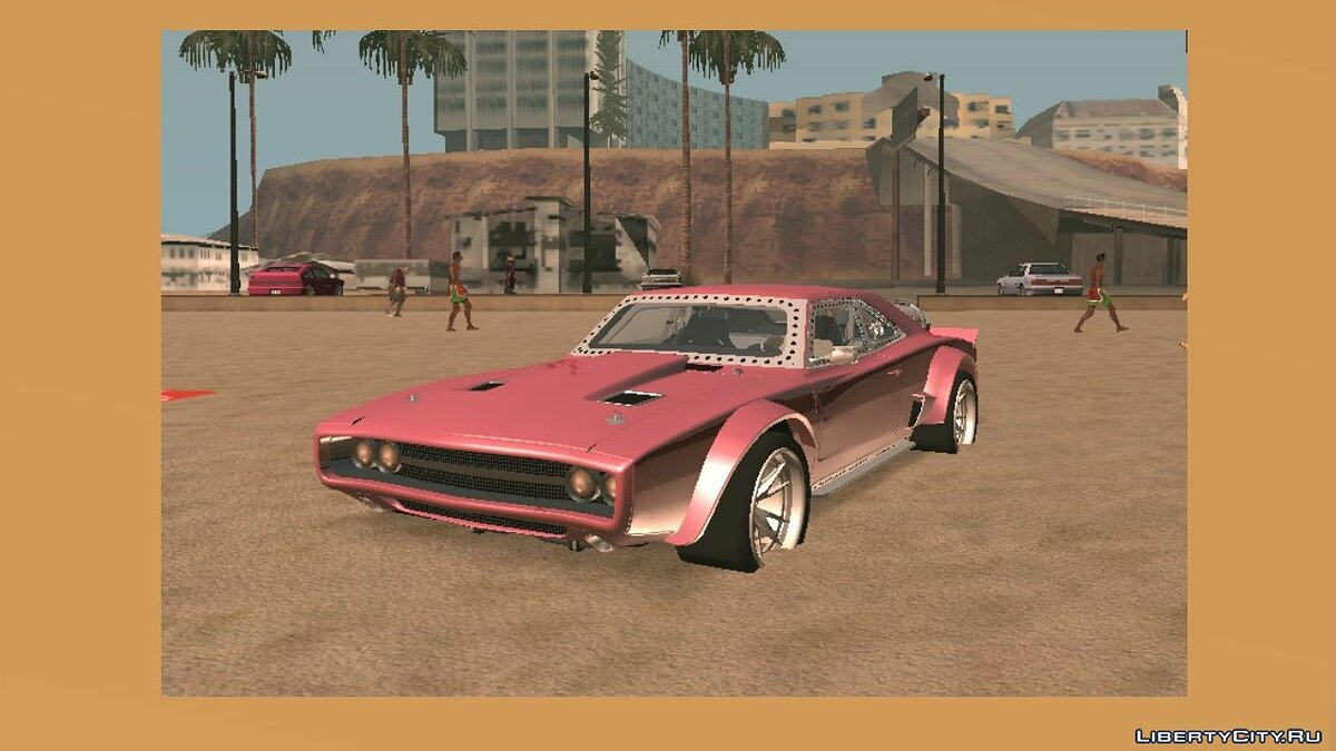 Car Dom's Ice Charger for GTA San Andreas (iOS, Android)