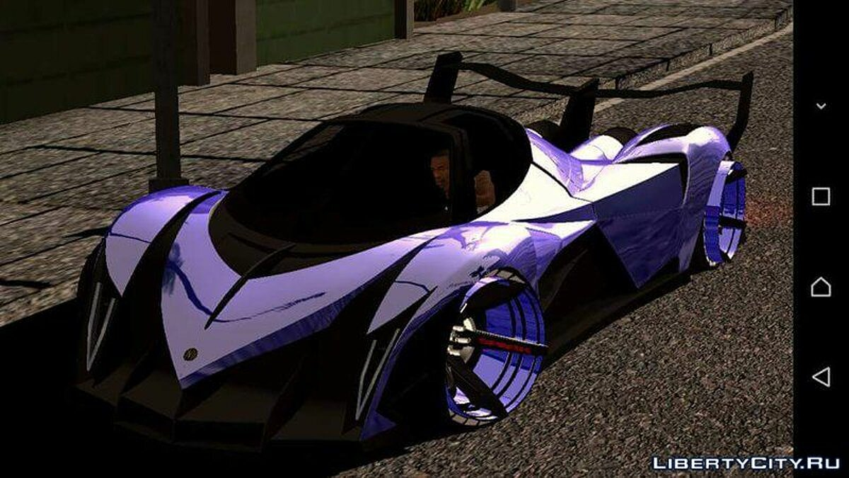 Car Devel sixteen concept for GTA San Andreas (iOS, Android)