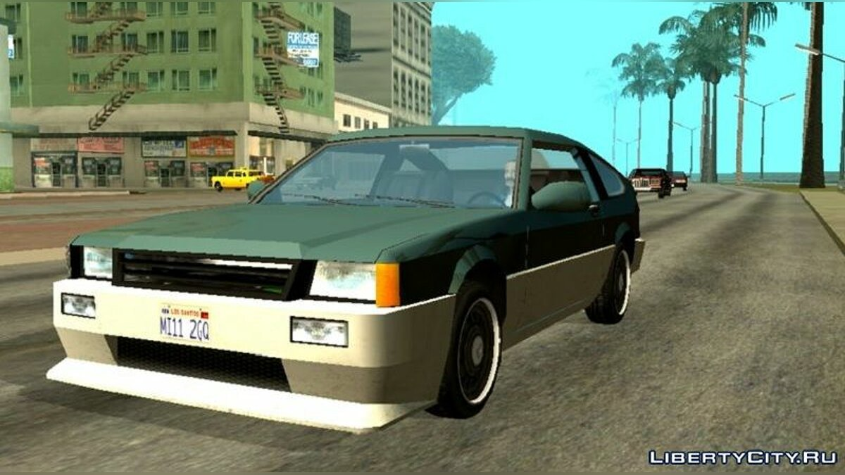 Car Improved standard transport for GTA San Andreas (iOS, Android)