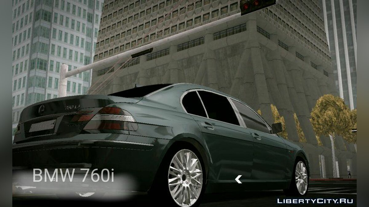 BMW 760i (no txd) for Android for GTA San Andreas (iOS, Android)