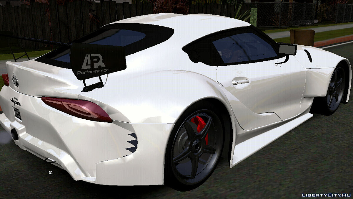 Car Toyota Supra A90 (DFF only) for GTA San Andreas (iOS, Android)
