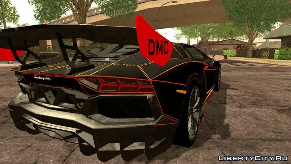 Car Lamborghini Aventador DMC LP988 for GTA San Andreas (iOS, Android)