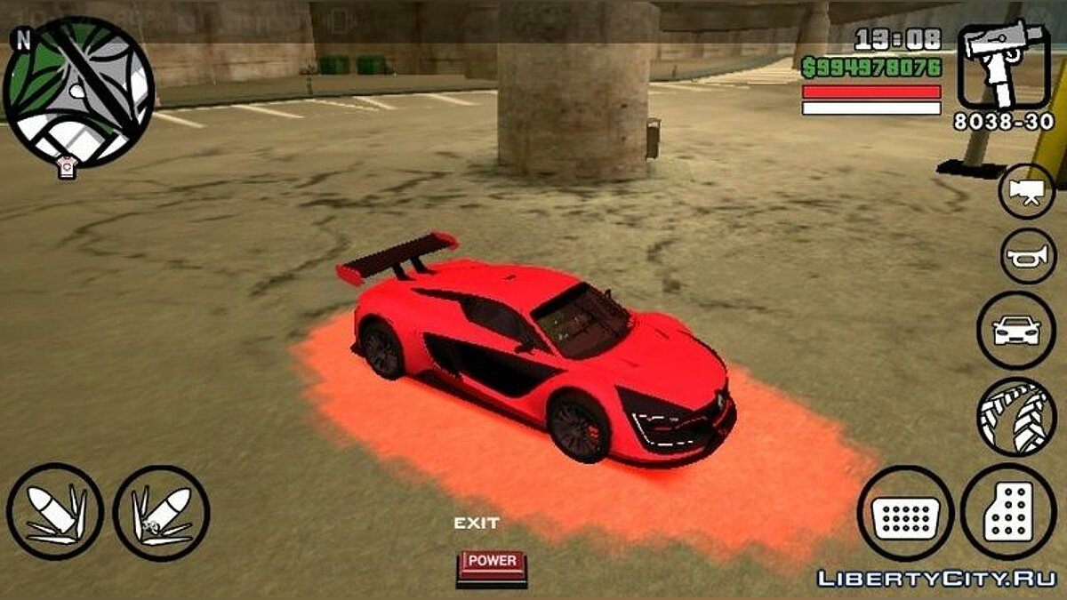 Car Renault RS 0.1 (DFF only) for GTA San Andreas (iOS, Android)