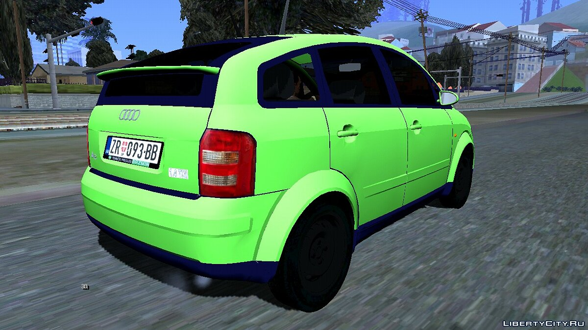 Car 1999 Audi A2 1.4 TDI for GTA San Andreas (iOS, Android)