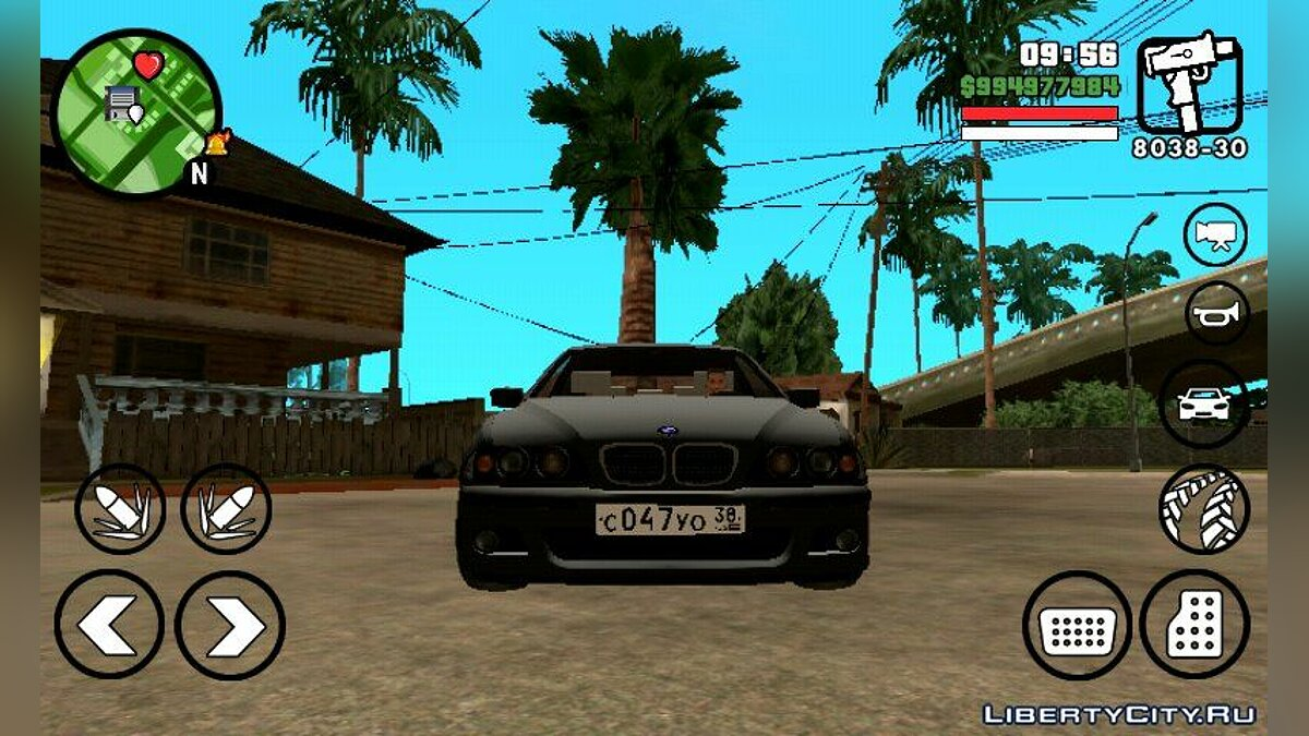 Car BMW M5 for GTA San Andreas (iOS, Android)
