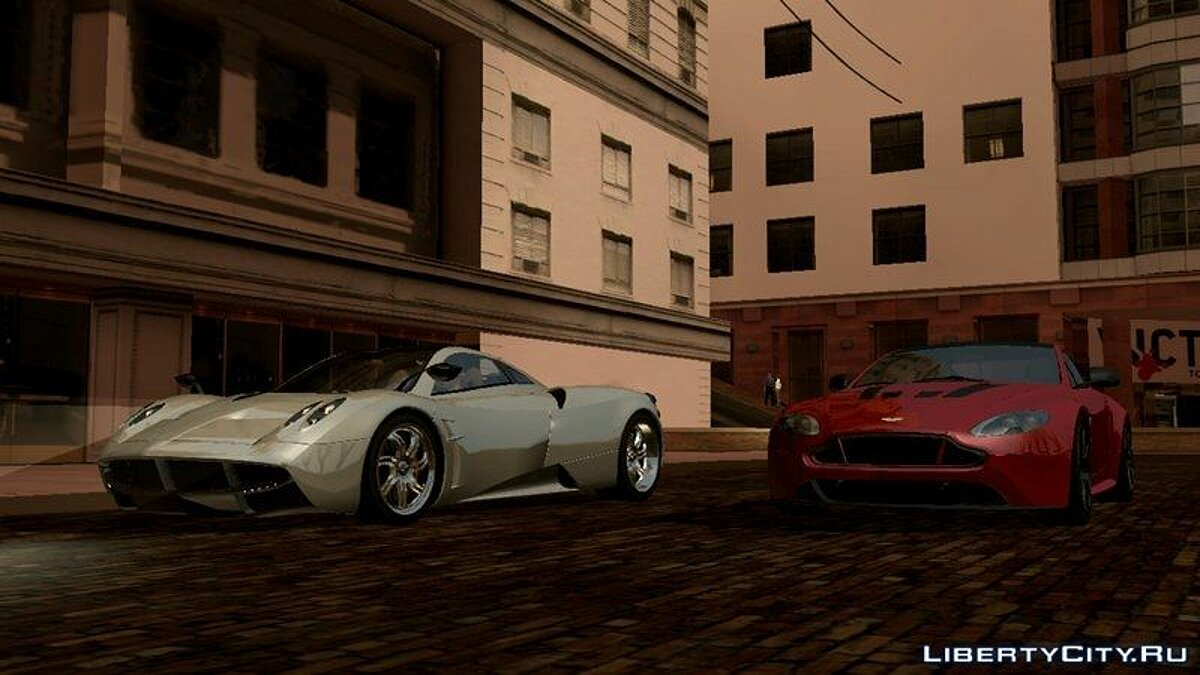 Pagani Huayra for GTA San Andreas (iOS, Android) - screenshot #3