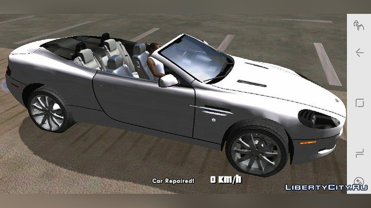Aston Martin DB9 for Mobile for GTA San Andreas (iOS, Android) - Картинка #2
