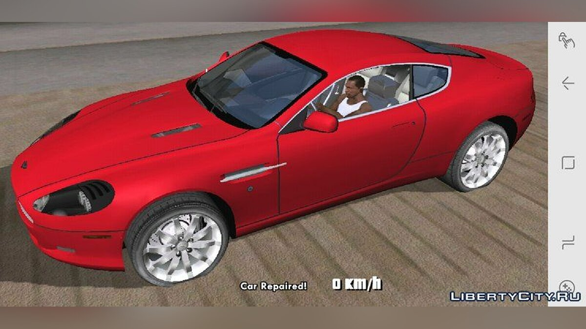 Aston Martin DB9 for Mobile for GTA San Andreas (iOS, Android) - Картинка #1