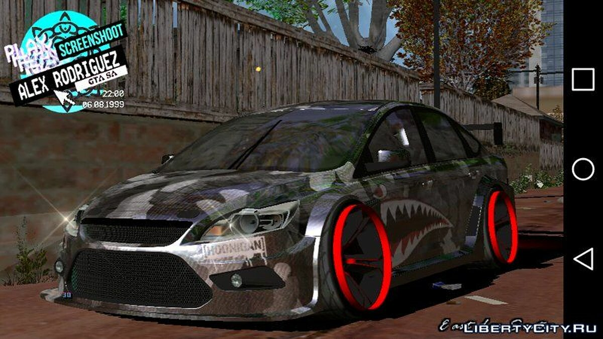 Ford Focus STI for GTA San Andreas (iOS, Android) - Картинка #3