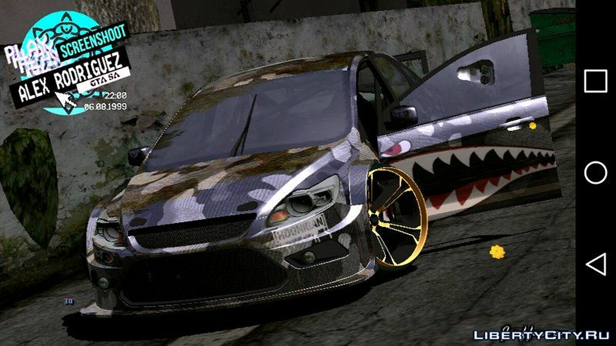 Ford Focus STI for GTA San Andreas (iOS, Android) - Картинка #1