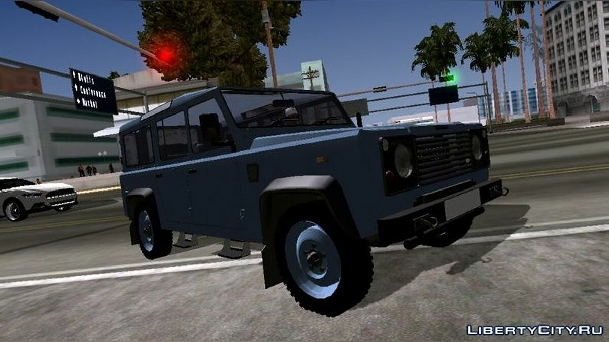 Car Land Rover Militar (DFF only) for GTA San Andreas (iOS, Android)