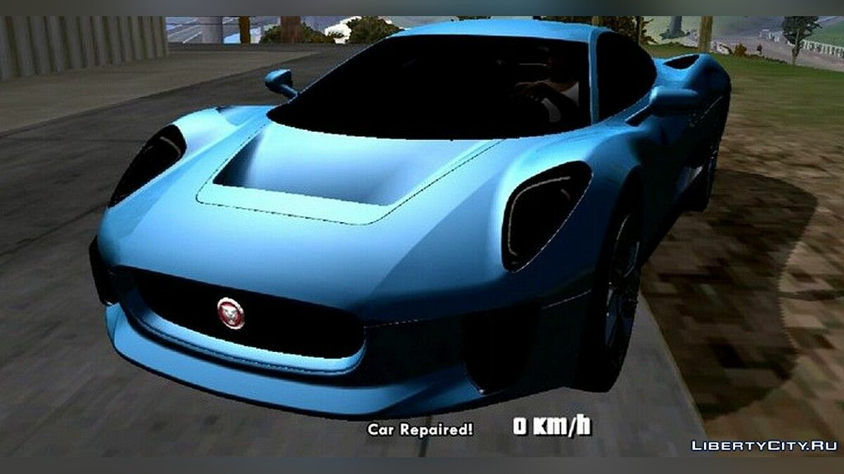 Jaguar C-X75 for GTA San Andreas (iOS, Android) - Картинка #4