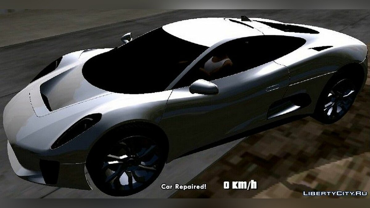 Jaguar C-X75 for GTA San Andreas (iOS, Android) - Картинка #1