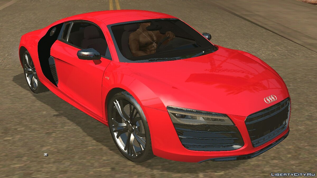 Car Audi R8 V10 Plus Coupe for GTA San Andreas (iOS, Android)