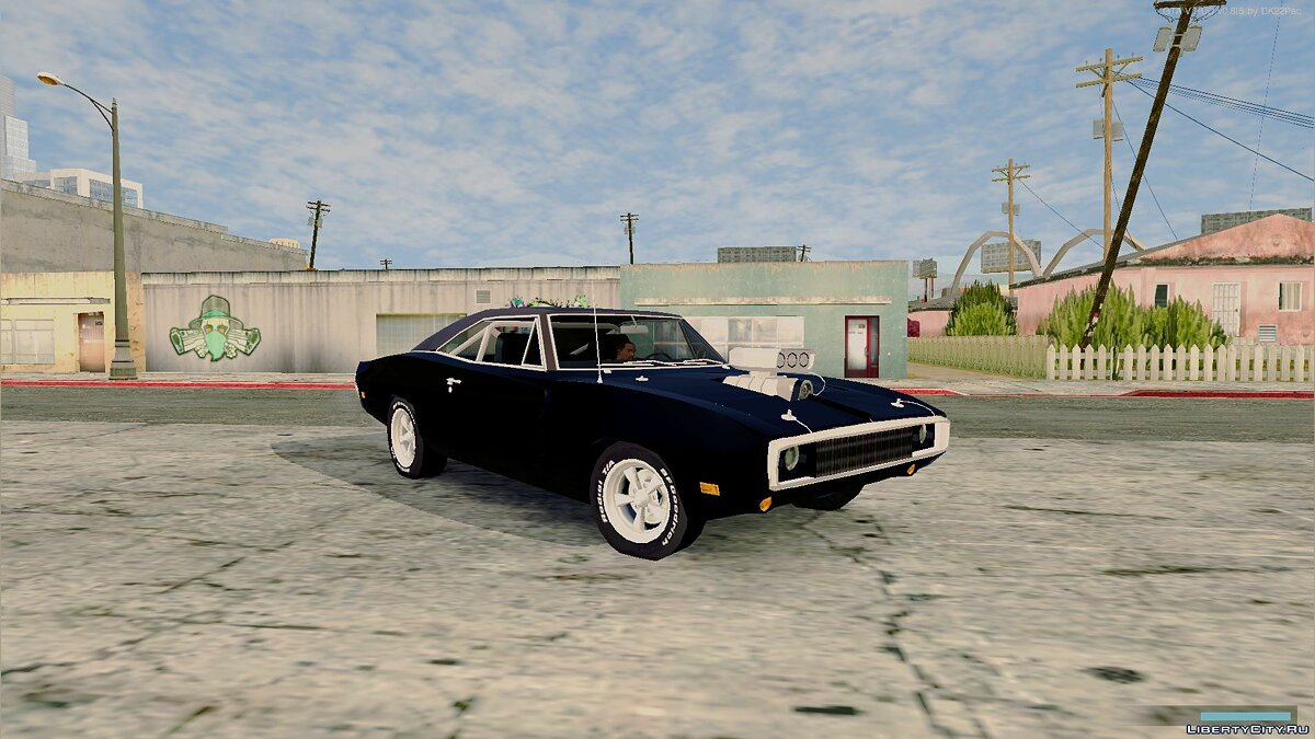 Car Dodge Charger RT 1970 (the Fast and the Furious) for GTA San Andreas (iOS, Android)