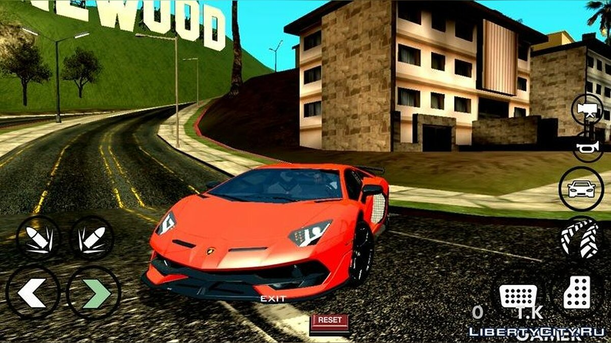 Car Lamborghini Aventador 770-4 SVJ 2020 for GTA San Andreas (iOS, Android)