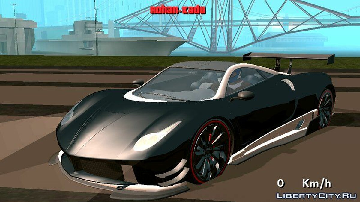 Car Pegassi Osiris (DFF only) for GTA San Andreas (iOS, Android)