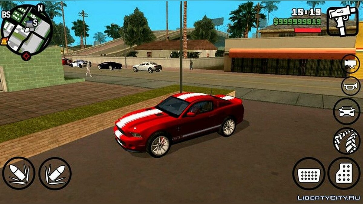 Car Ford Mustang GT500 Super Snake for GTA San Andreas (iOS, Android)