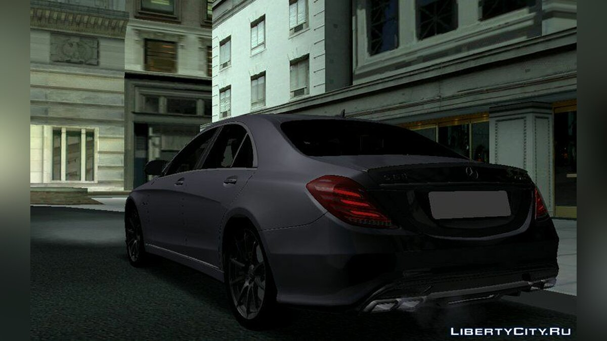 Mercedes Benz S63 AMG for GTA San Andreas (iOS, Android) - Картинка #2