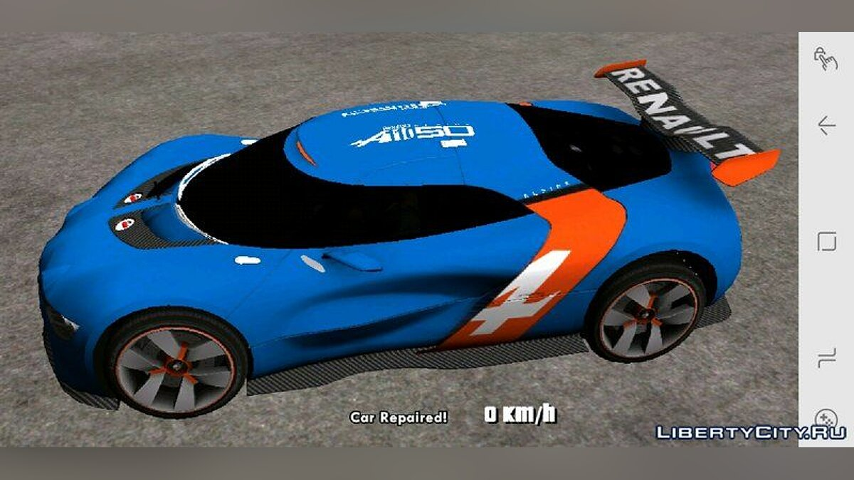 Car Renault Alpine A110-50 for GTA San Andreas (iOS, Android)