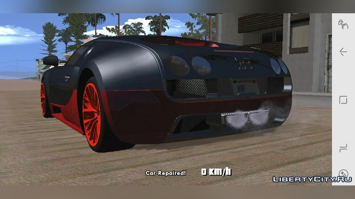 Bugatti Veyron Super Sports 2011 for GTA San Andreas (iOS, Android) - Картинка #2