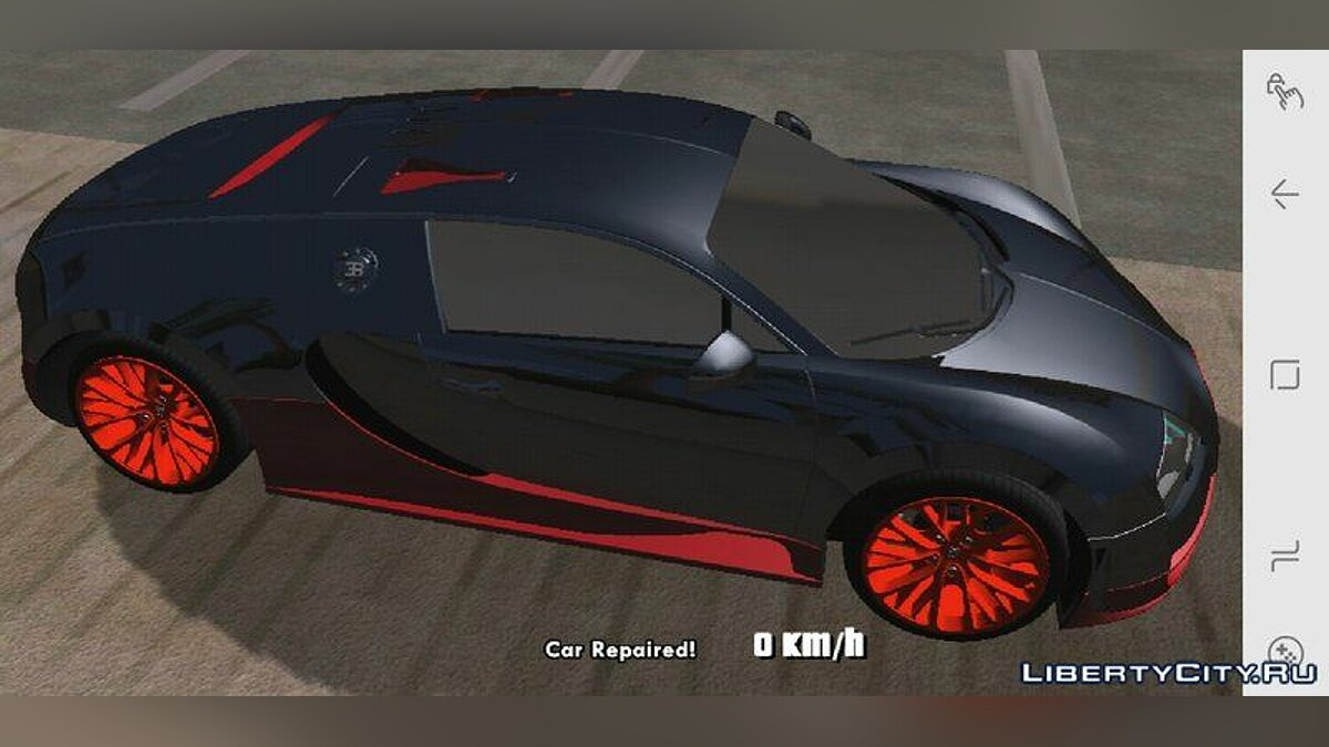 Bugatti Veyron Super Sports 2011 for GTA San Andreas (iOS, Android) - Картинка #1