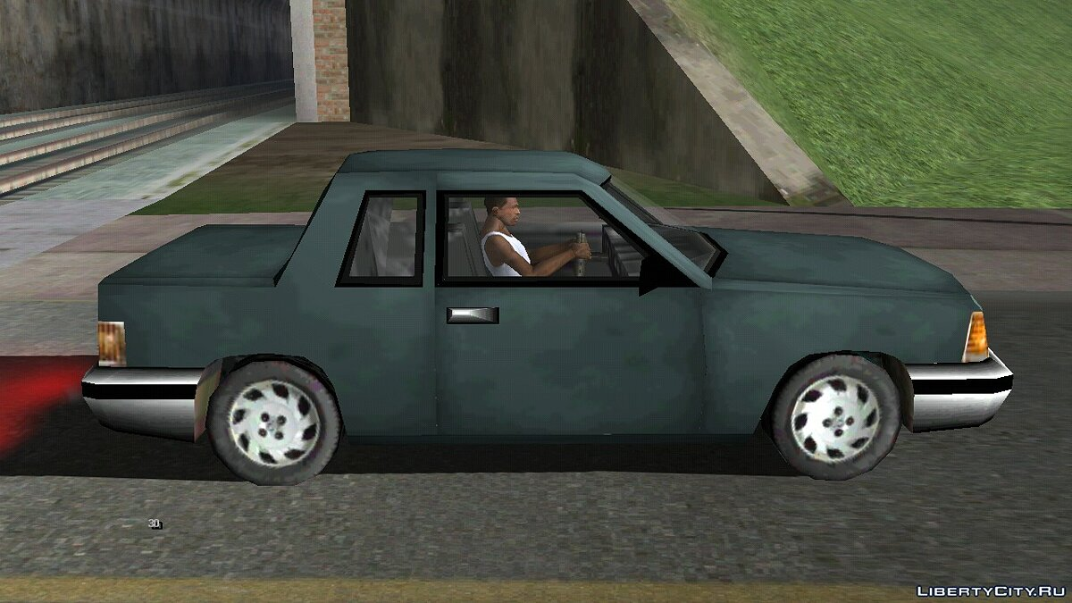 Car GTA 3 manana with a corpse in the trunk for GTA San Andreas (iOS, Android)