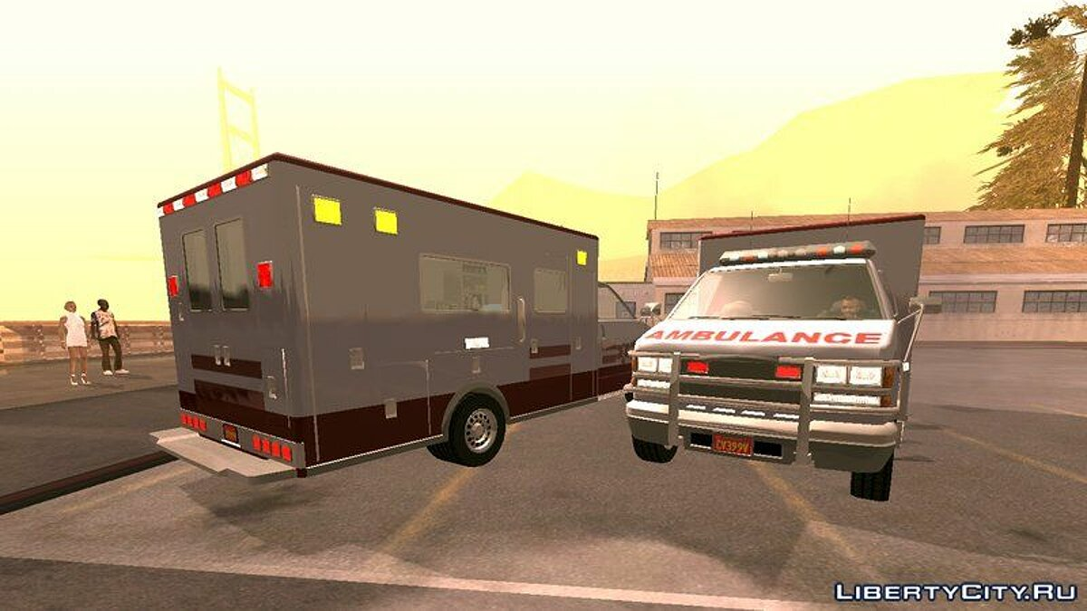 Ambulance Dff Only For Gta San Andreas Ios Android