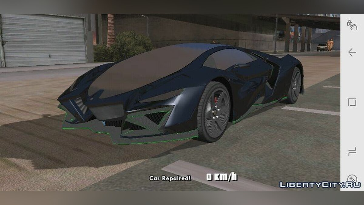 Pegassi Millennium for Mobile for GTA San Andreas (iOS, Android) - Картинка #3