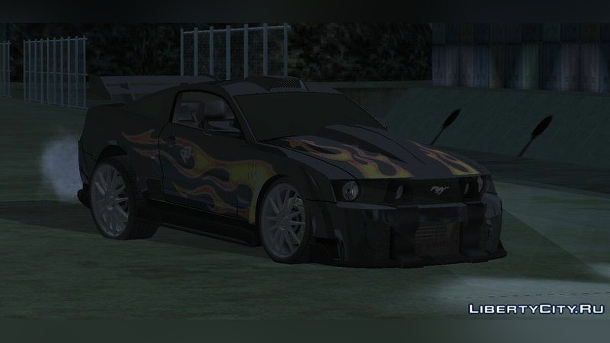 Car Razor's Ford Mustang GT for GTA San Andreas (iOS, Android)