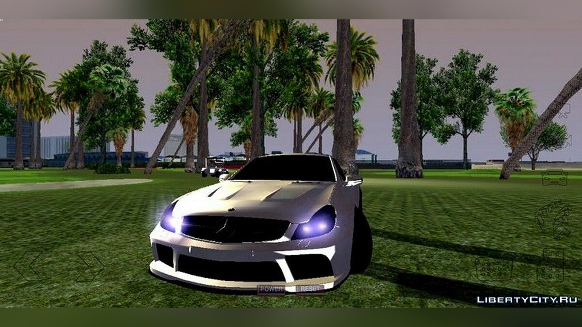 Mercedes-Benz SL65 AMG BLACK EDITION for GTA San Andreas (iOS, Android) - Картинка #3