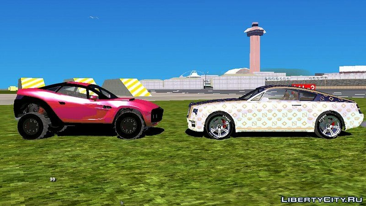 Car GTA 5 ILL Gotten Gains Complete Pack for GTA San Andreas (iOS, Android)