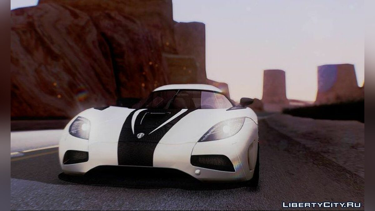 Koenigsegg Agera R 2014 for GTA San Andreas (iOS, Android) - Картинка #1