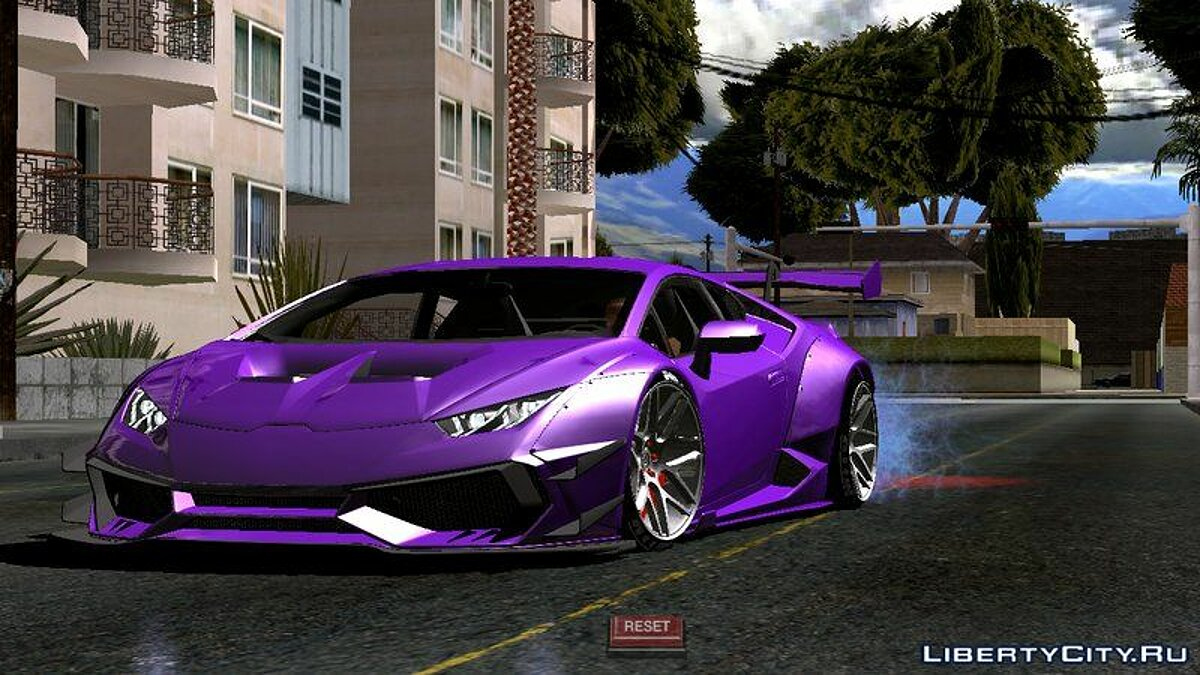 Car Lamborghini Huracan Liberty Walk for GTA San Andreas (iOS, Android)