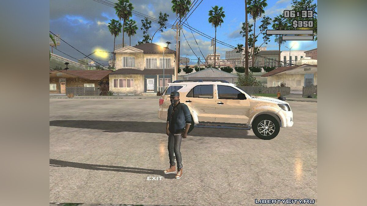 Car Toyota Fortuner for GTA San Andreas (iOS, Android)