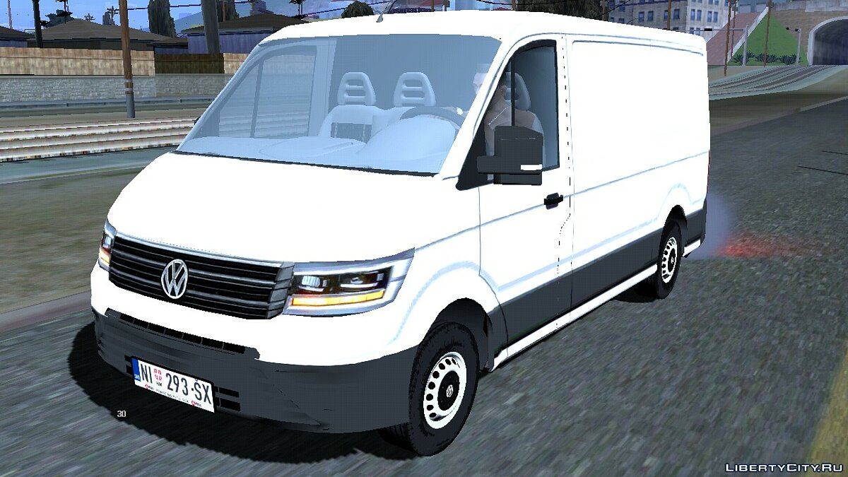 Car 2018 Volkswagen Crafter for GTA San Andreas (iOS, Android)