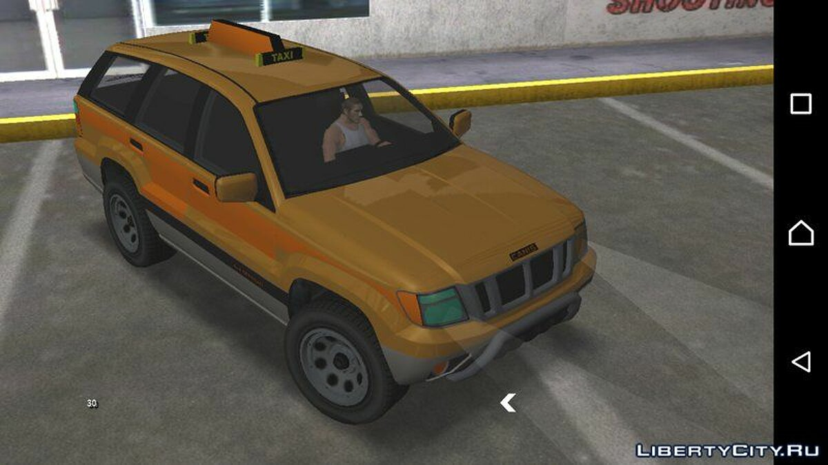 GTA V Canis Seminole Taxi for Android for GTA San Andreas (iOS, Android) - Картинка #1