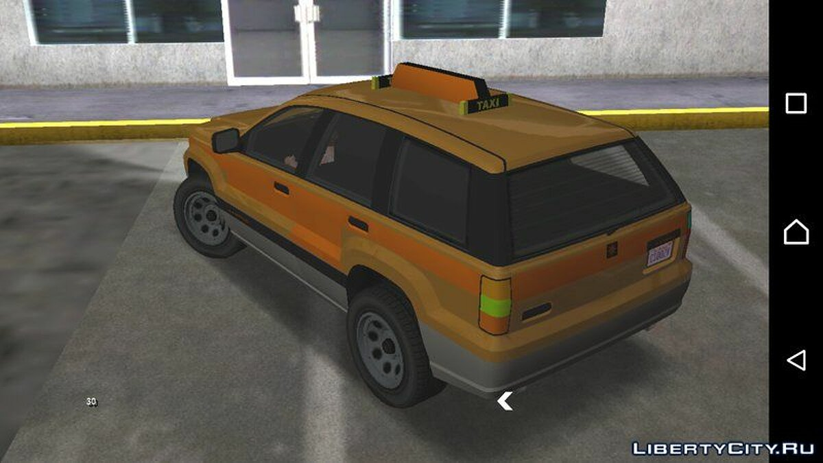 GTA V Canis Seminole Taxi for Android for GTA San Andreas (iOS, Android) - Картинка #2