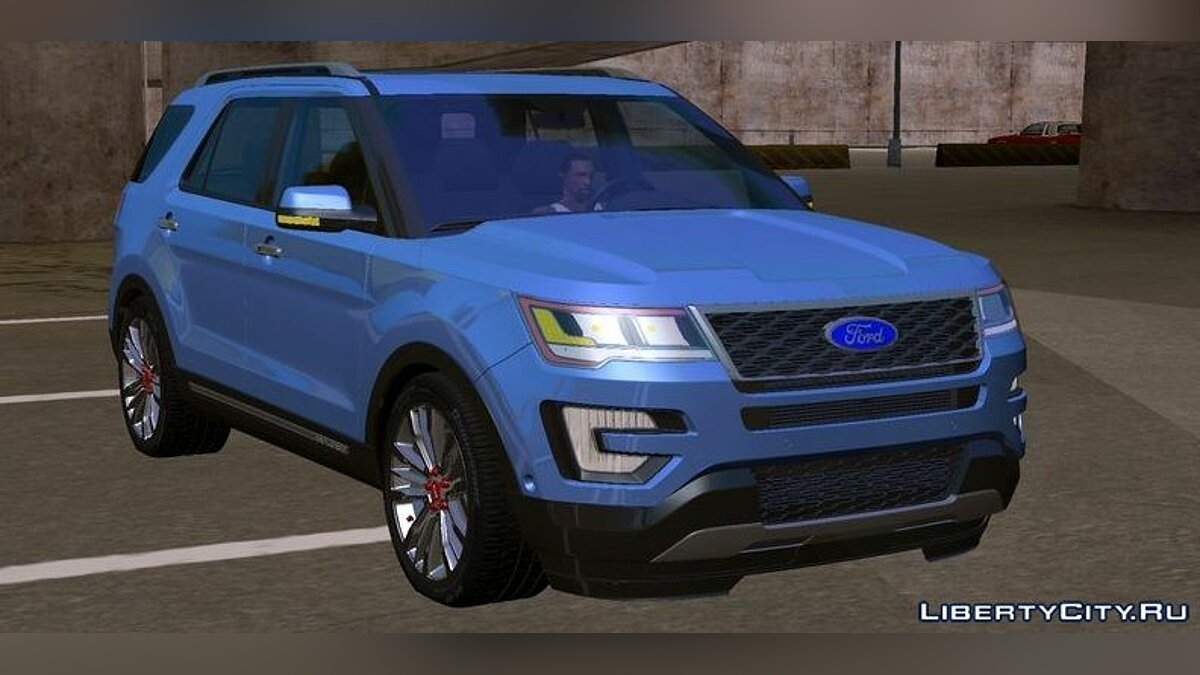 Car Ford Explorer 2016 for GTA San Andreas (iOS, Android)