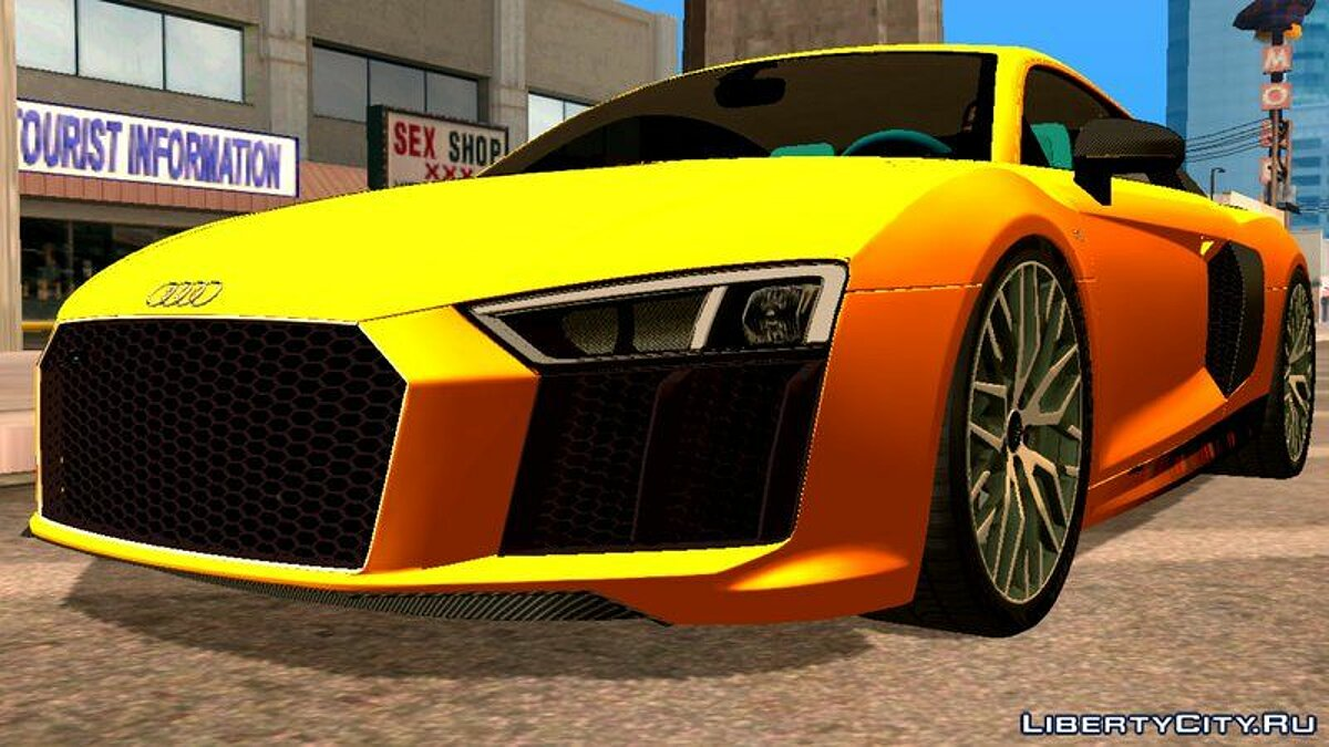 Car Audi R8 2017 for GTA San Andreas (iOS, Android)