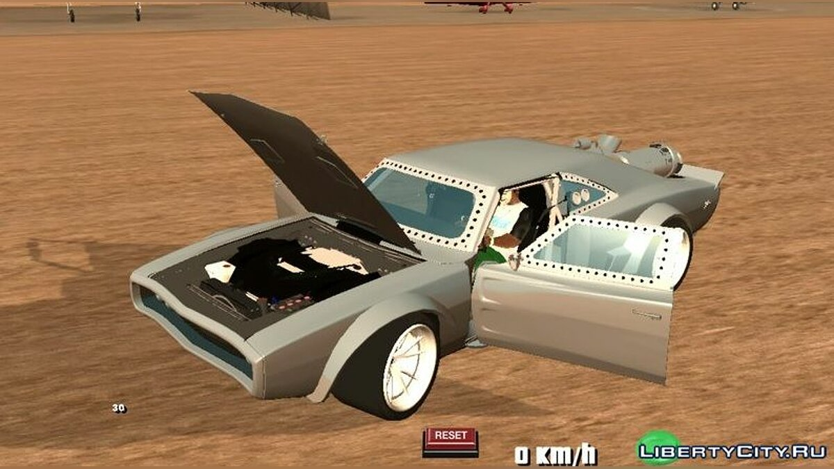 Car Dodge Ice Charger RT 1968 for GTA San Andreas (iOS, Android)