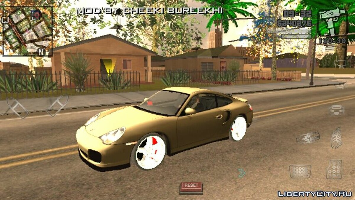 Porsche 911 GT3 for GTA San Andreas (iOS, Android) - Картинка #1